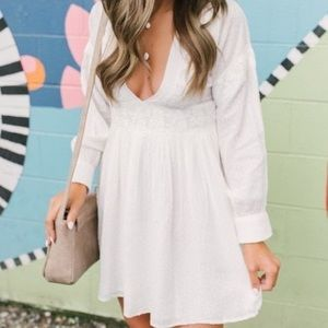 Free people white dress
